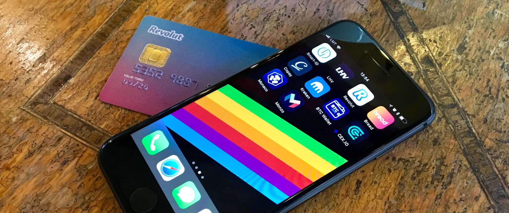 The Digital Banking Revolution. Revolut card