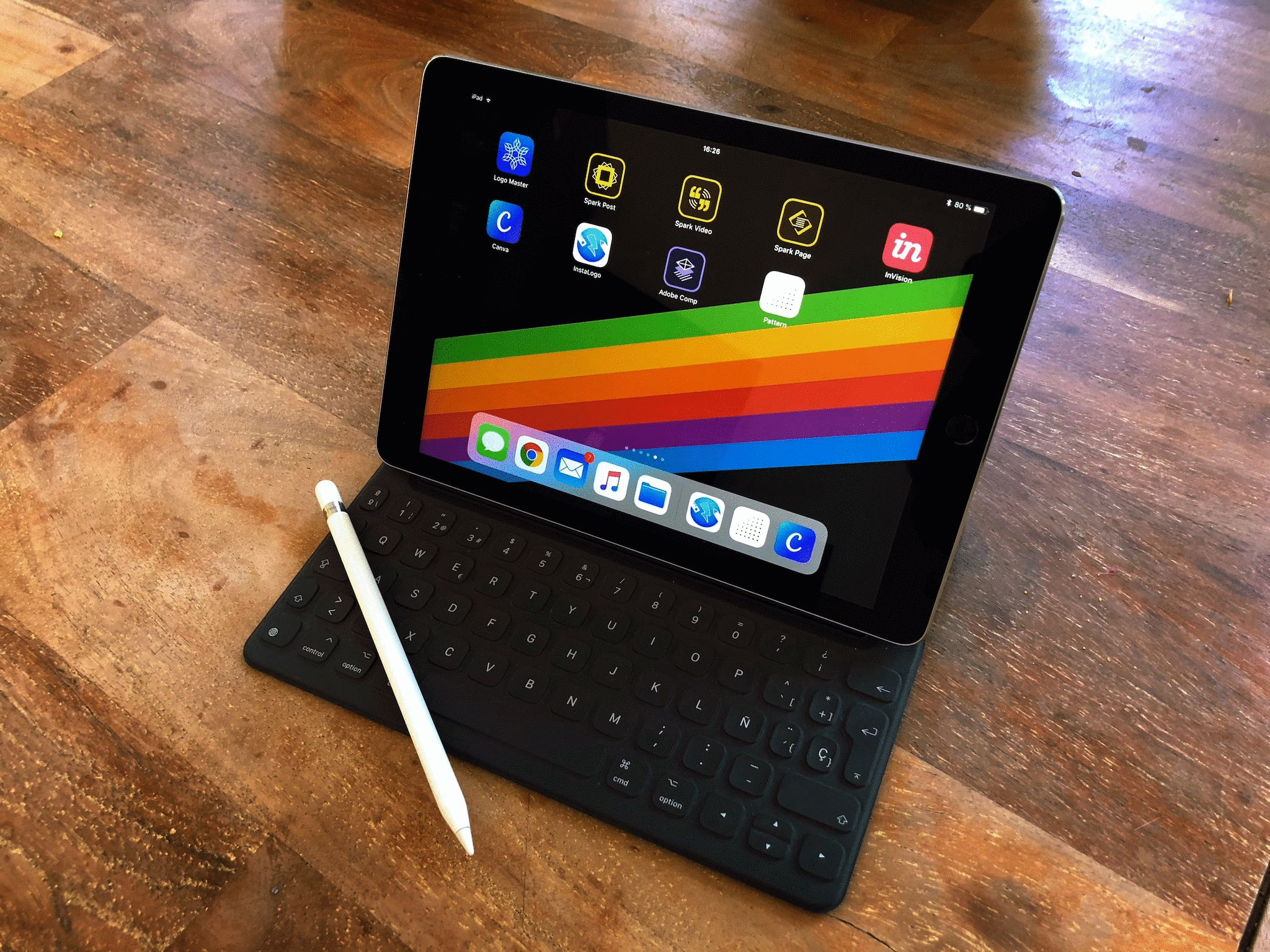 Working on an iPad Pro for developers