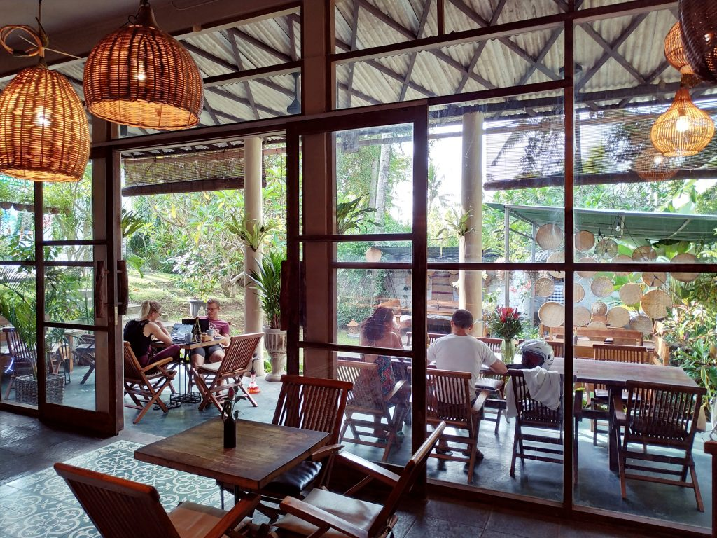 The Best Co-working Space in Ubud, Bali - Usha Cafe & Bakery